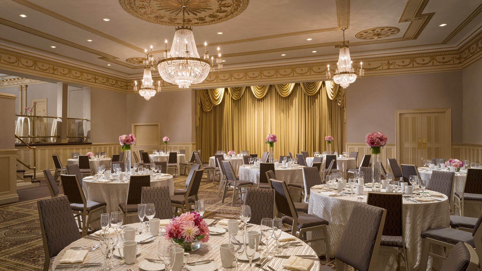Cambridge Wedding in George Washington Ballroom